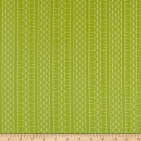 Riley Blake Designs Conservatory Stripes Green