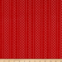 Riley Blake Designs Conservatory Stripes Red