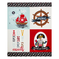 "Riley Blake Pirate Tales 36"" Panel Multi"