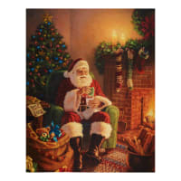 """Riley Blake Designs A Christmas Classic Milk And Cookies 36"""" Panel Multi"""