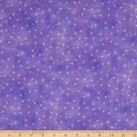 Michael Miller Fabrics The Pixie Collection Delicate Dandelions Purple