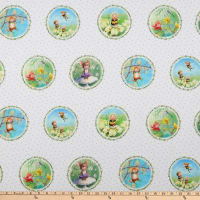 Michael Miller Fabrics The Pixie Collection Pixie Perfect Bright White