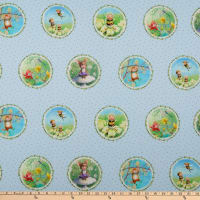 Michael Miller Fabrics The Pixie Collection Pixie Perfect Sky
