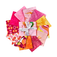 "Michael Miller Boho Boutique 18"" Fat Quarter Bundle Multi 12 pcs"