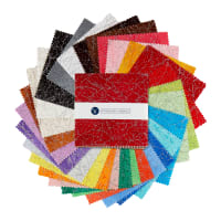 "Whistler Studios Diamond Dust 5"" Squares Multi"