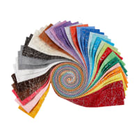 "Whistler Studios Metallic Diamond Dust 2.5"" Strips 40pcs Multi"