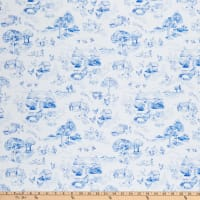 Windham Fabrics English Garden English Garden Toile White