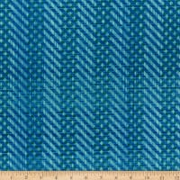 Whistler Studios Pottery Herringbone Denim