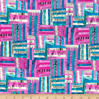 Whistler Studios Wish Woven Hot Pink