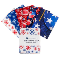 Whistler Studios Christmas USA Fat Quarter Bundle 6pcs Multi