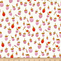 Windham Fabrics Heather Ross 20th Anniversary Strawberry Lilac