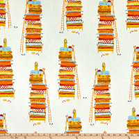 Windham Fabrics Heather Ross 20th Anniversary Princess And The Pea Yellow