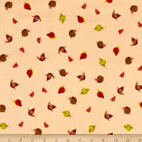 Windham Fabrics Heather Ross 20th Anniversary Snails Peach