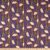 Windham Fabrics Heather Ross 20th Anniversary Moths Twilight