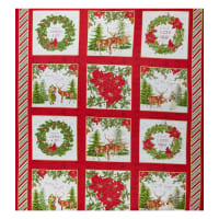 "Whistler Studios Comfort & Joy Comfort & Joy Block 24"" Panel Multi"