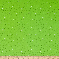 Windham Fabrics Fiesta Blooming Dots Lime