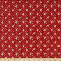 Windham Fabrics Walnut Creek Oak Leaf Red