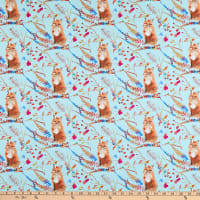 Windham Fabrics Fox Wood Curious Fox Capri