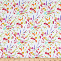 Windham Fabrics Fox Wood Garden White