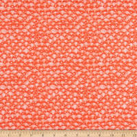 Windham Fabrics Fox Wood Leaf Coral