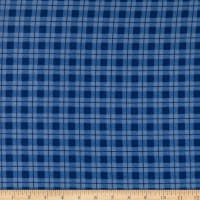 Whistler Studios Dad Plaids Flannel Stanley Blue
