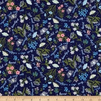Windham Fabrics Meadow Whispers Whisper Midnight