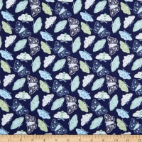 Windham Fabrics Meadow Whispers Moths Midnight