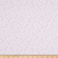 Windham Fabrics Love Pink Pink Ribbons White