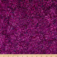 Anthology Fabrics Jacqueline De Jonge Flirt Full Bloom Plum