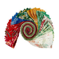 "Anthology Batiks Joy To The World 2.5"" Strips 40pcs Multi"