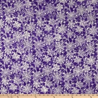 Anthology Batiks Trick Or Treat Spiderwebs Purple