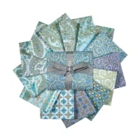 QT Fabrics Versailles Fat Quarter 12 Pcs Multi
