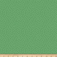 QT Fabrics Steampunk Halloween Dot Green