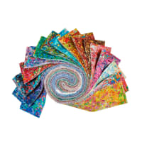 "QT Fabrics Illuminations 2.5"" Strips Bundle 42 Pcs Multi"