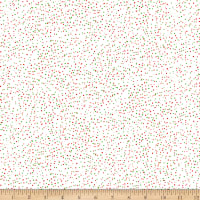 QT Fabrics Digital Santa's Workshop Snow White