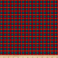 QT Fabrics Digital Gifts From Santa Plaid Multi