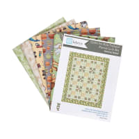 "QT Fabrics Digital Toyland 36"" x 44"" Pieced Quilt Kit"