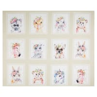 P&B Textiles Little Darlings Animal Squares Multi