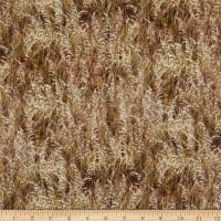 P&B Textiles By The Peaceful Shore Beach Grass Neutral Tan