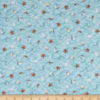P&B Textiles By The Peaceful Shore Small Toss Blue