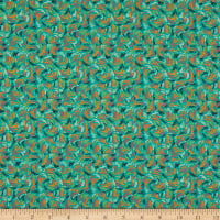 P&B Textiles Farah Flowers Windy Dashes Multi