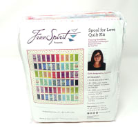 Tula Pink Spool of Love Quilt Kit Homemade