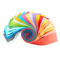 "Maywood Studio Precut Gelato Ombre 2.5"" Strips 40pcs Multi"