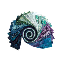 "Maywood Studio Batiks Coastal Getaway 2.5"" Strips 40pcs Multi"