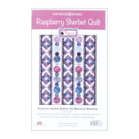 Maywood Studio Batiks Coastal Getaway Raspberry Sherbet Quilt Kit Multi