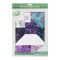Maywood Studio Pods Coastal Getaway Batiks Quilt Kit Multi