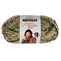 Bernat Softee Chunky Twist Yarn (80g/2.8oz), Camo