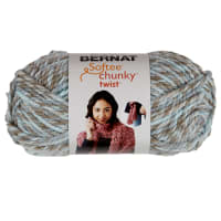 Bernat Softee Chunky Twist Yarn (80g/2.8oz), Seaglass