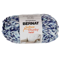 Bernat Softee Chunky Twist Yarn (80g/2.8oz), Shadow Green
