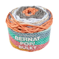 Bernat Pop! Bulky Yarn Pastel Sunset